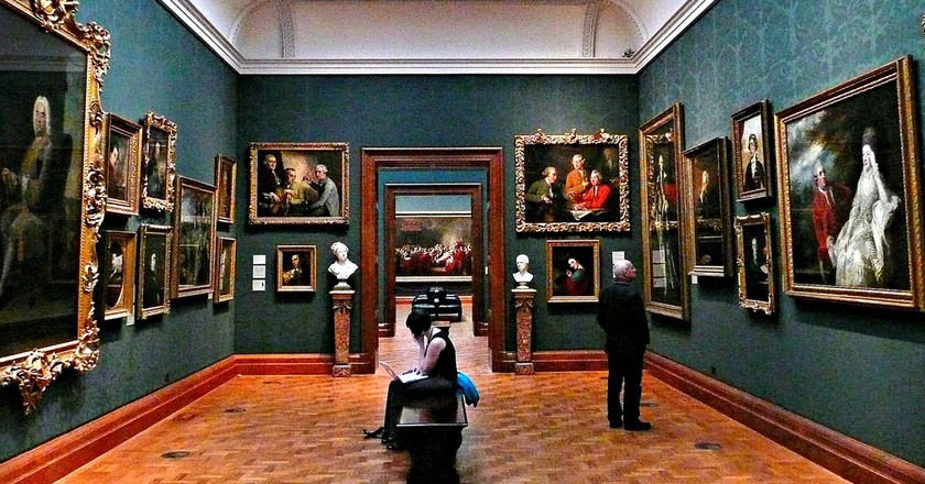 Inside the National Portrait Gallery | © Herry Lawford/Flickr