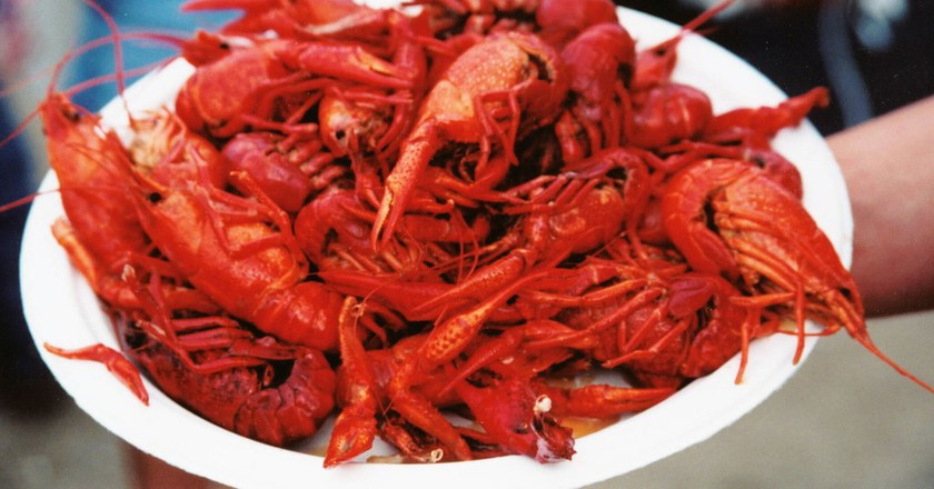 Crawfish Plate | © Phil Darnell/Flickr