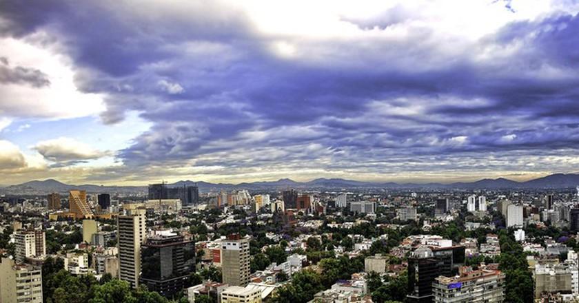 Mexico City Panorama  © Francisco Diez/Flickr