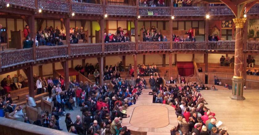 Globe Theatre Galleries ©Andrea Vail