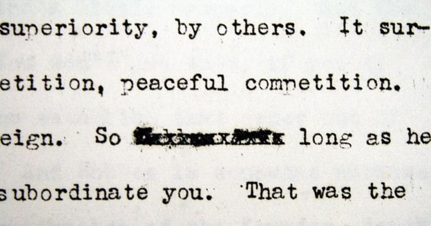 Typewriter typo | © Quinn Dombrowski/Flickr