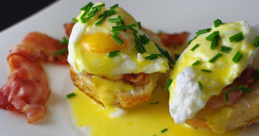 Œufs Benedict / Eggs benedict   © Isabelle Hurbain-Palatin/Flickr