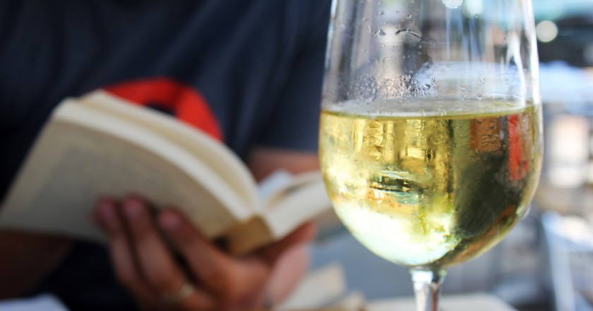Discover the Bookstore Inside a Wine Bar