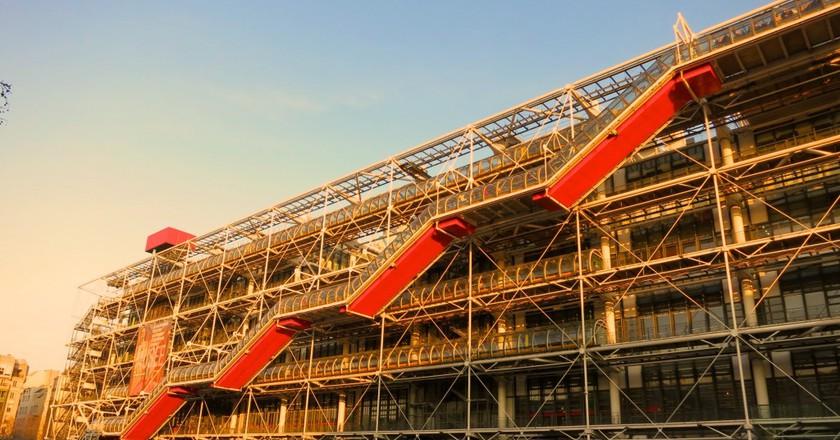 The Centre Pompidou C'est A Vous This Sunday