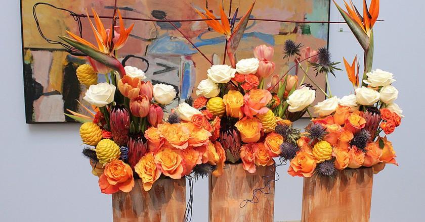 Flower arrangements   © Margaret Campbell/Flickr