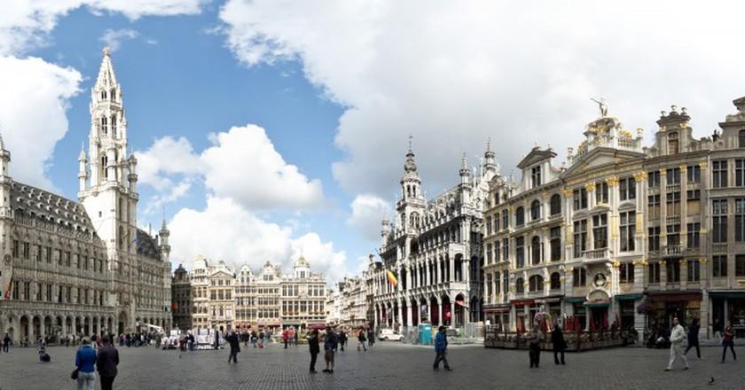 Brussels panorama | © Steve Collis/WikiCommons