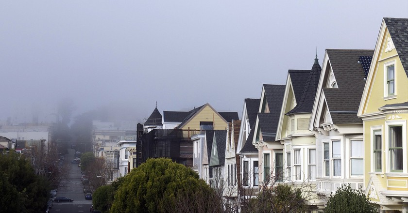 Fog over Duboce Triangle © David Lytle/Flickr