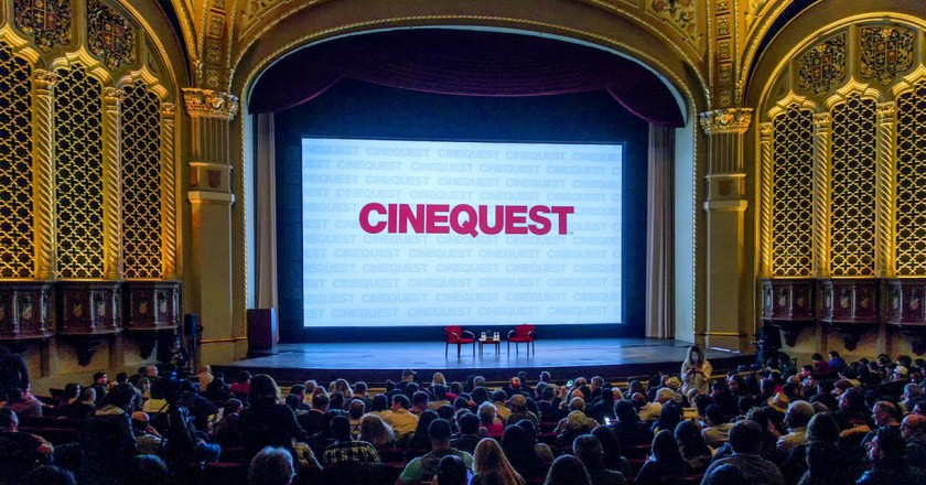 California Theater, one of three locations of the Cinequest Film Festival | Courtesy of Cinequest