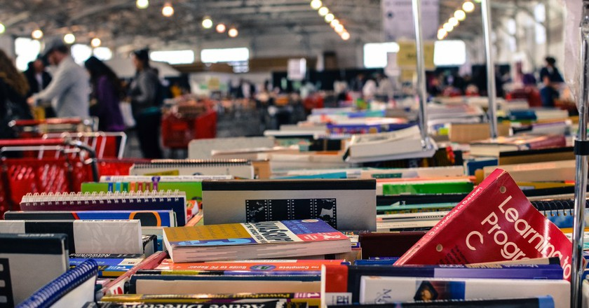 Stock Up At The SF Public Library's Spring Big Book Sale