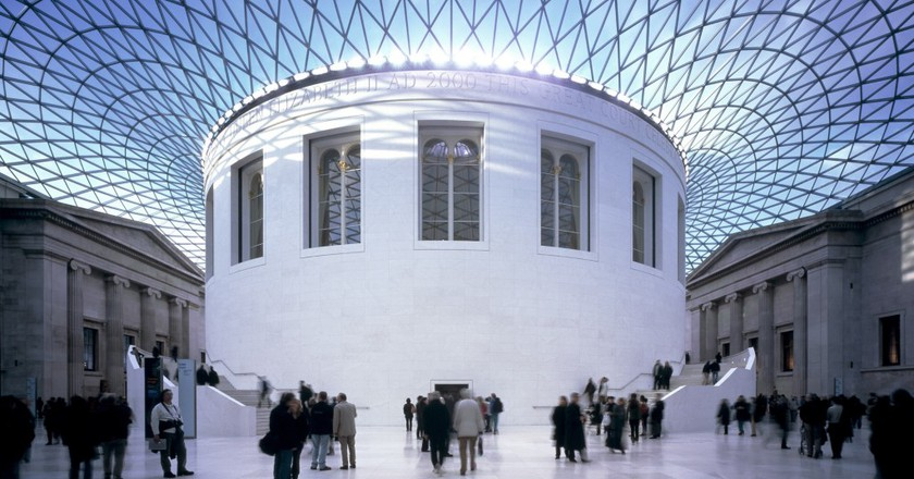 The Great Court at the British Museum | © M.chohan / WikiCommons