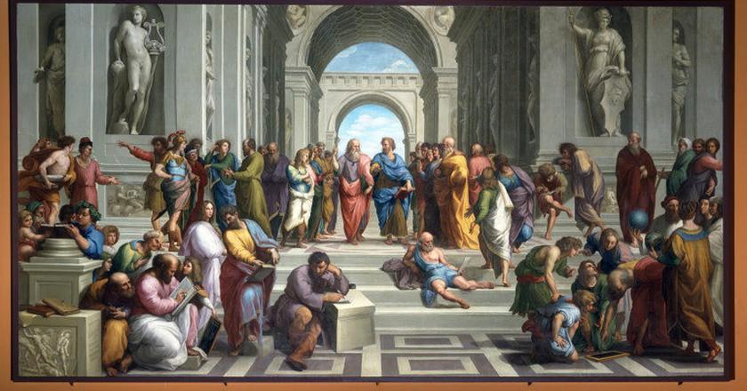Raphael, The School Of Athens, 1509  | © Adonia~commonswiki