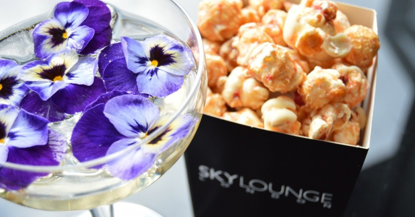 Fizz & Nibbles at SkyLounge   Courtesy of SkyLounge