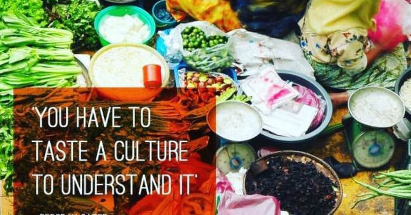 The Curious Foodi motto | curiousfoodi/Instagram