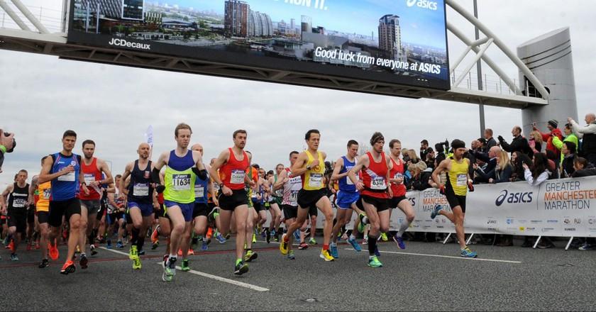 Manchester Marathon | Courtesy of Manchester Marathon