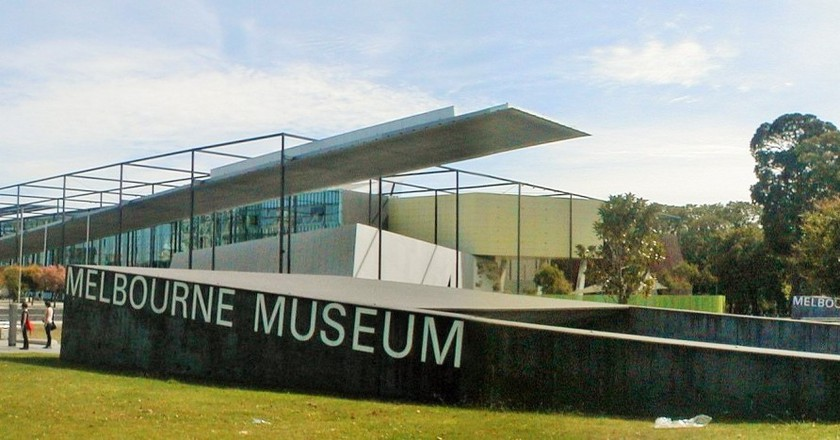 Melbourne Museum from Nicholson Street | © User:Tirin/WikiCommons