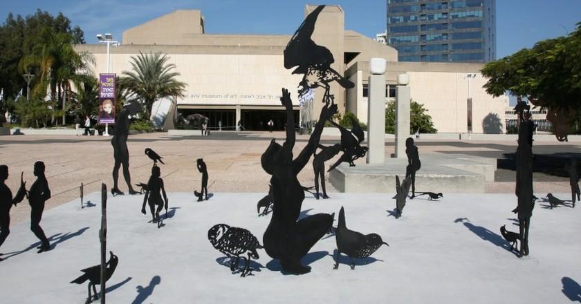 The Tel Aviv Museum of Art Courtesy of Avraham Hay