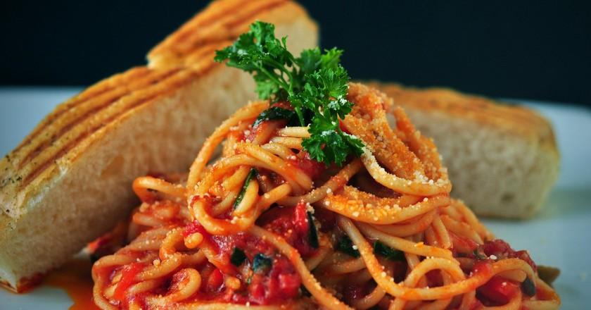 Spaghetti and tomato sauce | © Pixabay