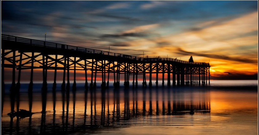 Crystal Pier at Sunset | © Rex Boggs/Flickr