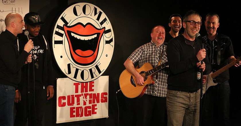 Previous comedians performing | Courtesy of The Comedy Store