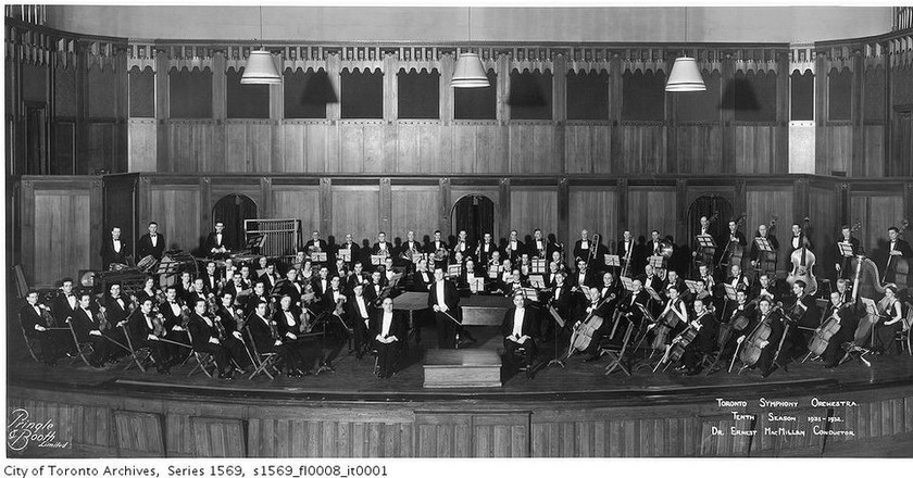 Toronto Symphony Orchestra tenth season, 1931-1932 | © Pringle & Booth / WikiCommons