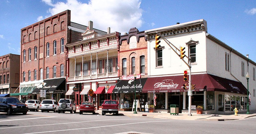 Downtown Noblesville   © Derek Jensen/WikiCommons
