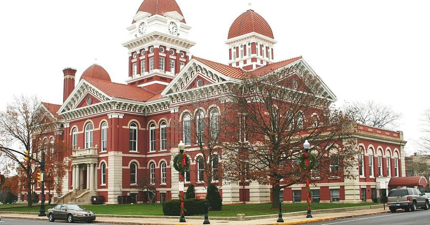 Old Lake County Courthouse in Crown Point | © T. Tolbert/WikiCommons