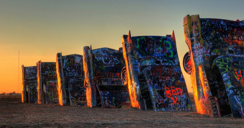 The History Of Cadillac Ranch In 1 Minute