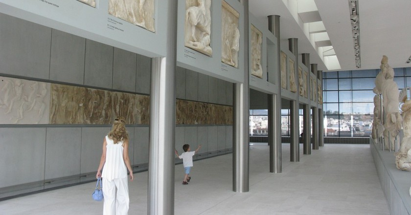A Brief History of The Acropolis Museum, Athens