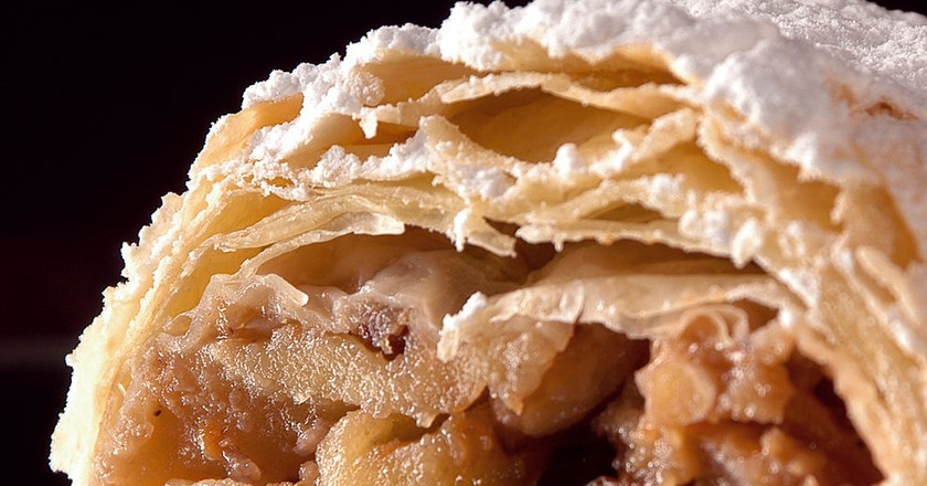 A Brief History of the Apple Strudel