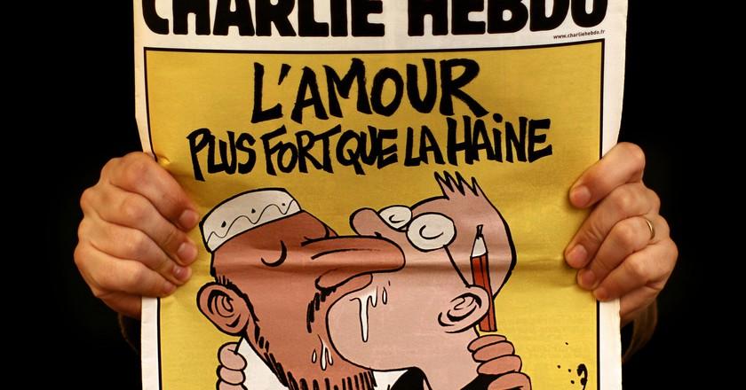 Charlie Hebdo cover   © Carlos ZGZ/Flickr