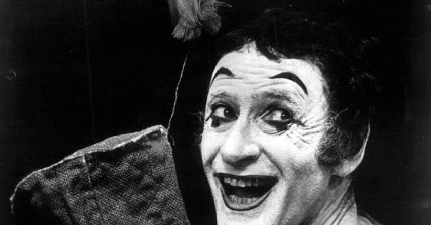 Marcel Marceau, France's Most Memorable Mime
