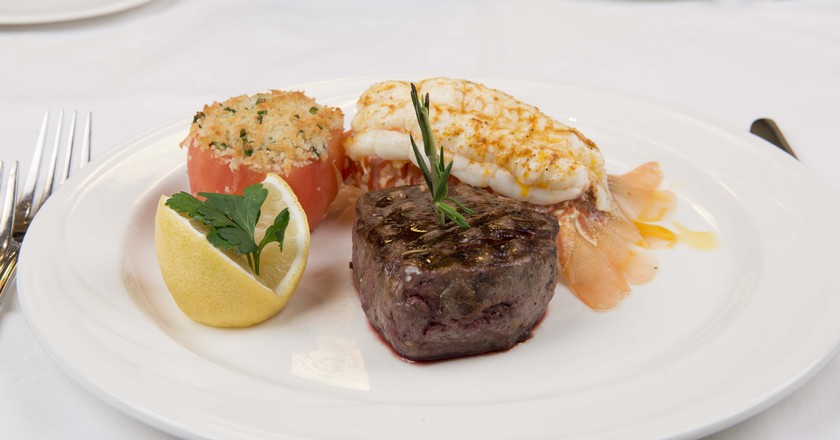 Surf & Turf with Lobster at William B's   Courtesy of William B's Steakhouse