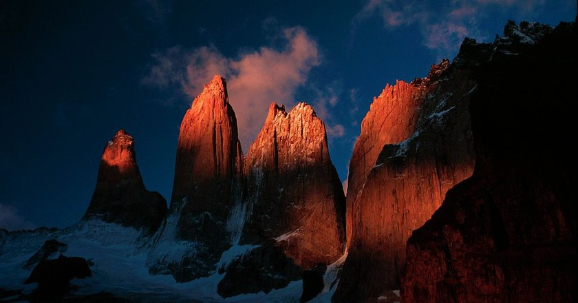 Torres del Paine, Chile   © FlickrLickr/WikiCommons