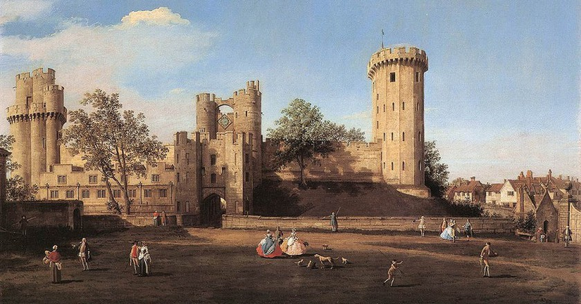 (c) Canaletto, Warwick Castle - Art Gallery ErgsArt - by ErgSap