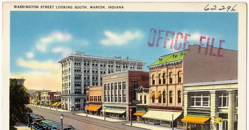 Marion, Indiana post card, circa 1930-1945 | © Tichnor Brother, Publisher/WikiCommons