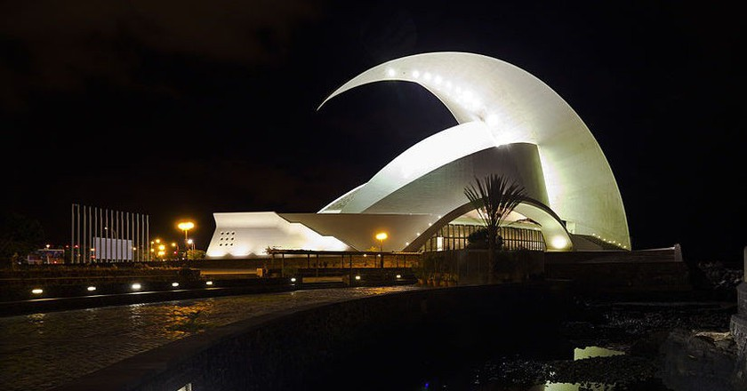 Auditorium of Tenerife, Santa Cruz de Tenerife, Spain  | ©  Diego Delso/WikiCommons