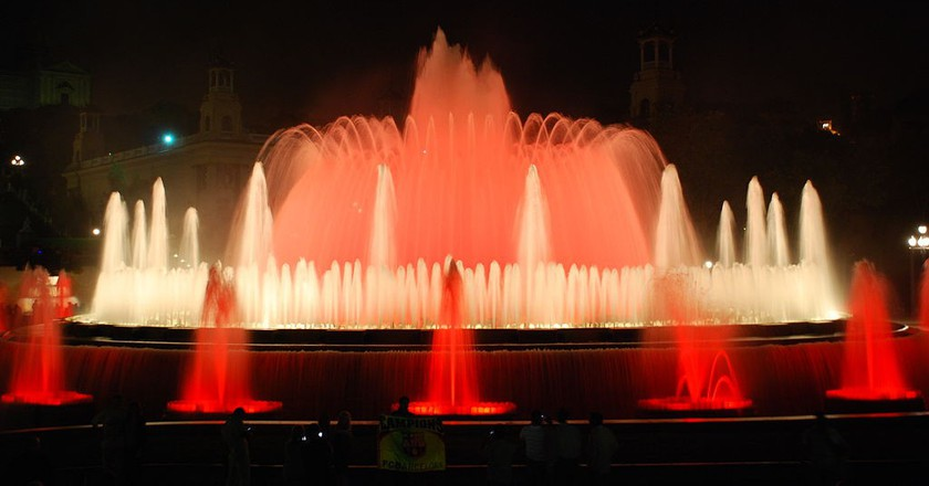 The History Of The Magic Fountain Of Montjuïc In 1 Minute