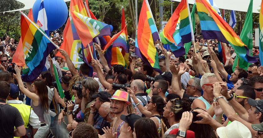 Gay Pride Parade Courtesy of Flickr| U.S. Embassy Tel Aviv