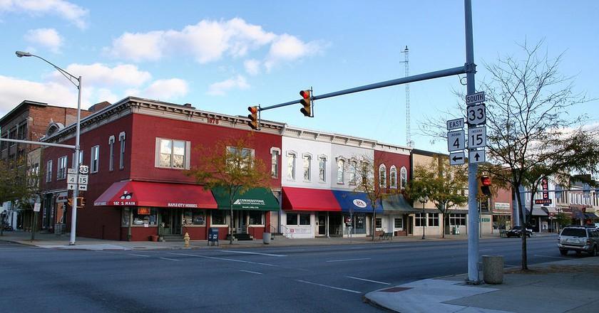 Downtown Goshen, IN | © Derek Jensen/WikiCommons