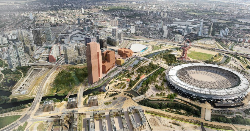 Olympicopolis Brings The Smithsonian To The Olympic Park