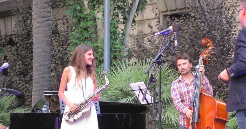 Jazz Vermut At Casinet D'Hostafrancs With Eva Fernández