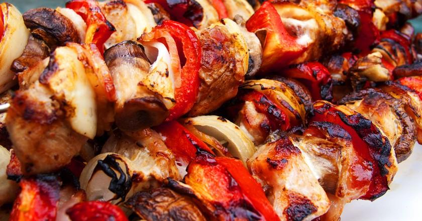 Shish kebab   © Robert/Flickr