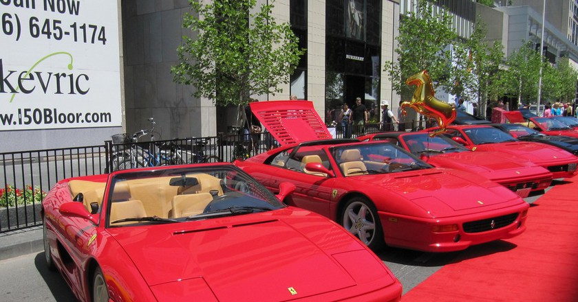 Ferraris at the Yorkville Exotic Car Show in Toronto | © Loozrboy/Flickr