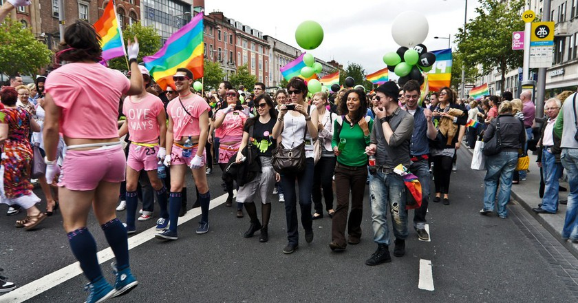 Gay Pride Parade In Dublin - 2011 | ©William Murphy/flickr