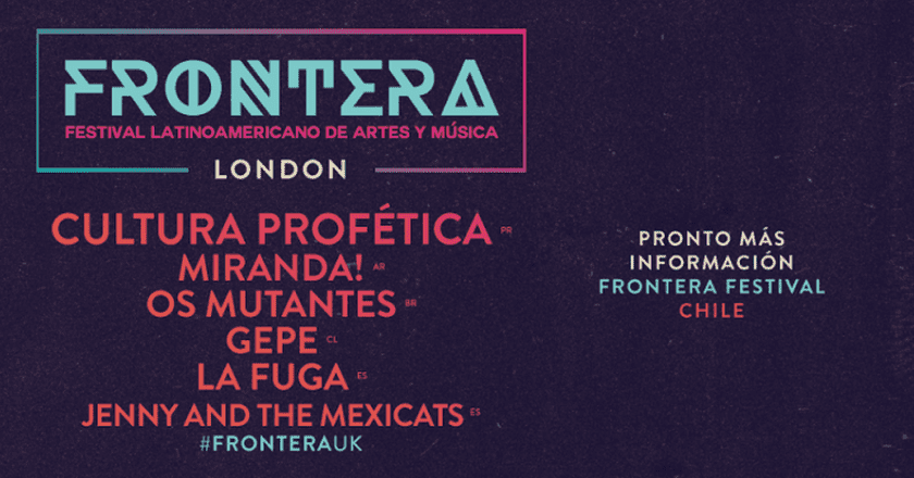 Win A Pair Of Tickets To Frontera Festival This Weekend