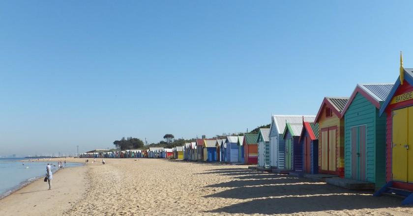 Brighton Beach, ©Ian Cochrane, Flickr