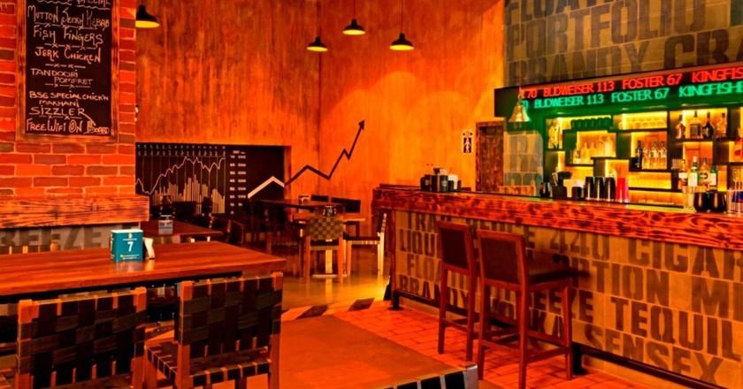 The Bar Stock Exchange| Courtesy of Zomato