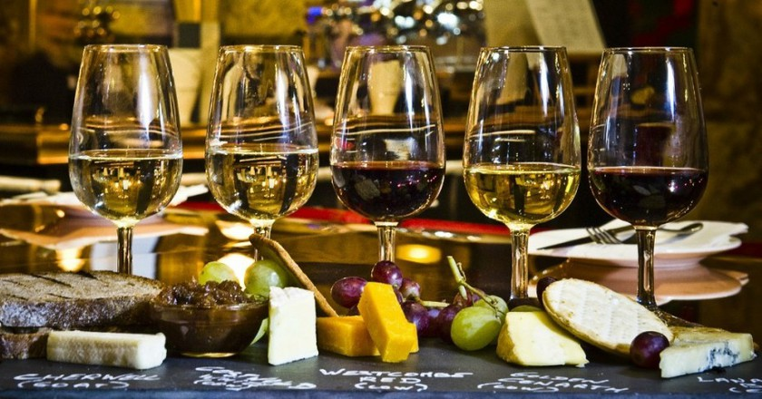 Wine and cheese   Boyds Wine & Grill Bar
