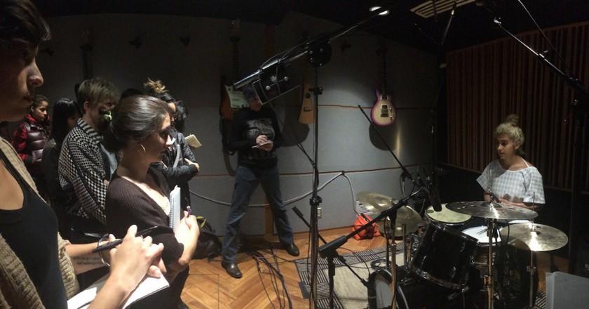 Women's Audio Mission Recording Studio © Courtesy of Women's Audio Mission