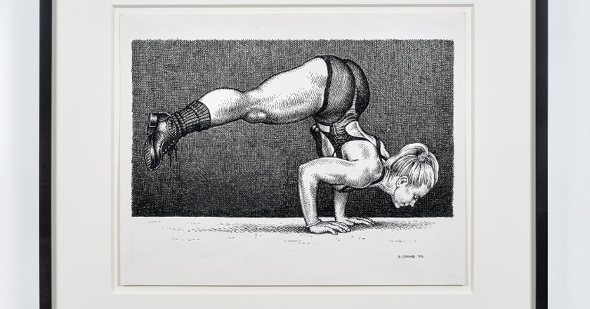 © Robert Crumb, 2002.  Courtesy the artist, Paul Morris, and David Zwirner, New York/London